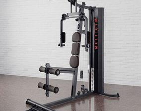 Gym equipment 03 am169 3D