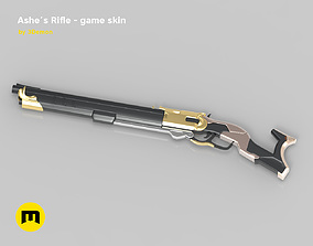 3D printable model Ashe Rifle in-game version