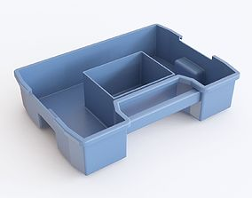 3D model Storage Plastic Crates