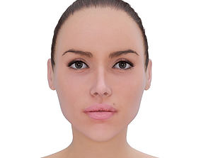Woman beauty 3D model realtime