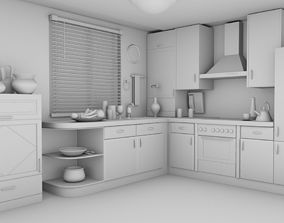 rehman KItchen interior 3D