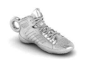 sport 3D printable model Wrestling shoe pendant