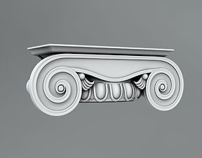 3D model element Pilaster Capitals