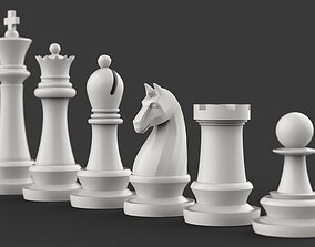 3D print model Complete Chess Pieces
