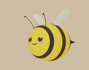 3D model cute little bee