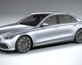 Mercedes-Benz S-Class long 2021 3D