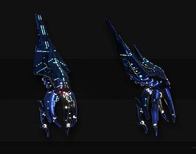 3D asset Mass Effect - Reaper Harbinger