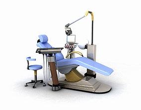 Dental Chair 3D teeth
