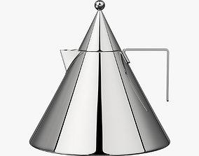 Aldo Rossi Kettle Il conico 3D model