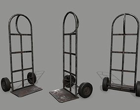 Trolley stall 3D asset VR / AR ready