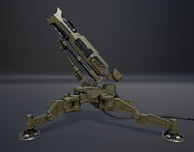 3D asset Anti Aircraft Launcher