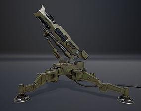 3D asset Anti Aircraft Launcher