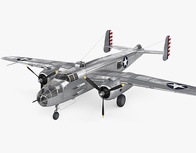 North American B-25 Mitchell 3D