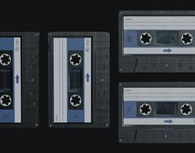 3D model realtime Audio Cassette