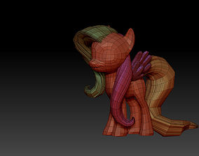 pegasus My Little Pony - Flutter Shy 3D model