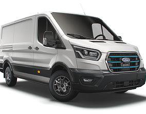 3D model Ford E Transit Van L2H1 2022