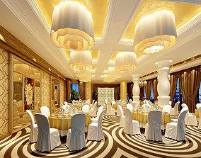 Business Restaurant - Coffee - Banquet 109 3D