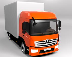 MERCEDES ATEGO 2015 LOWPOLY 3D model