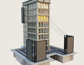 3D model Building Skyscraper 6