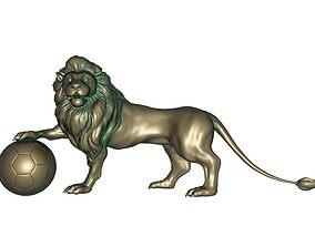 3D print model Lion bronze statue sculptures