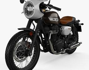 Kawasaki W800 Cafe 2019 3D model