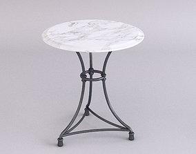 Marble top table - Medium 3D