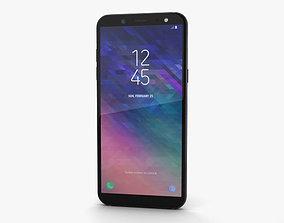 Samsung Galaxy A6 Black 3D