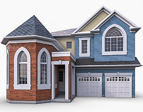 3D model Cottage House 07