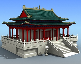 3D Chinese Architecture 03