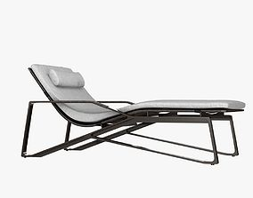 3D model Holly hunt moray chaise