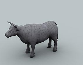 Model for texturing Bull 3D asset