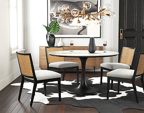 Dining room interior 305 3D model