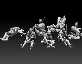 soldiers ussr 2ww 3D printable model ww2