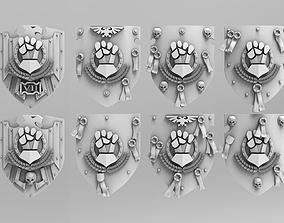 3D printable model Fist Storm Shields