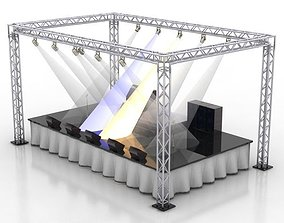 stage architect 3D model