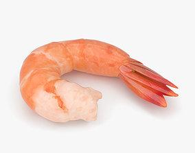 Shrimp shellfish 3D model