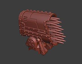 3D print model Giant Robot Alternative Missile Rack