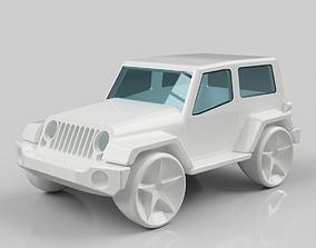 Jeep Wrangler 3D print model