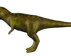 T-Rex 3D model rigged