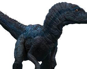Velociraptor 3D print model 3d