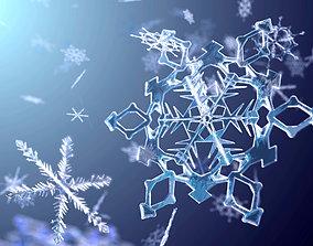 Set of Snowflake Models for Closeups exterior