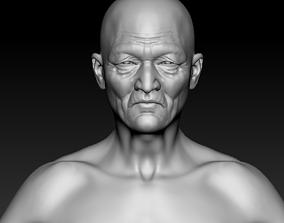 Old Male Base 3D model
