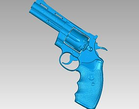 Real Colt Phyton 357 Replica 3D Scan sport