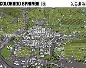 Colorado Springs 3D model
