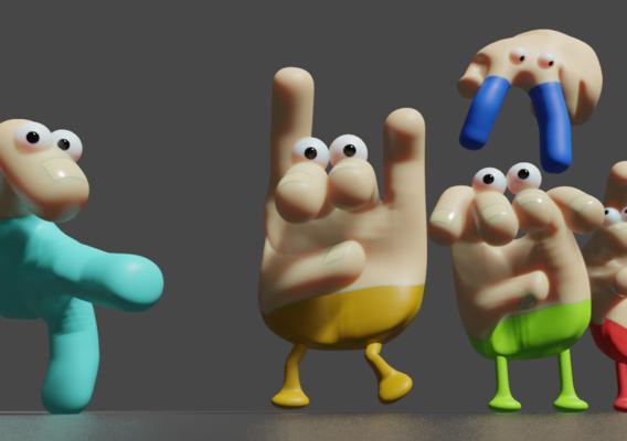 Hand Characters
