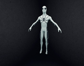 Spiderman Future 3D Low Polygon game-ready