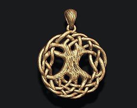 tree of life pendant 3D print model