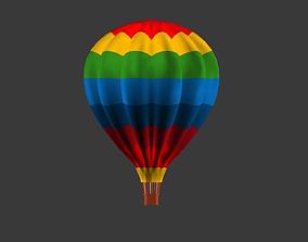 Hot Air Baloon 3D asset