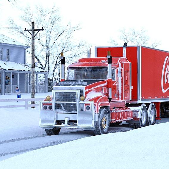 Coca-Cola Christmas Trucks