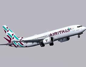 3D model Boeing 737 MAX-8 Air Italy